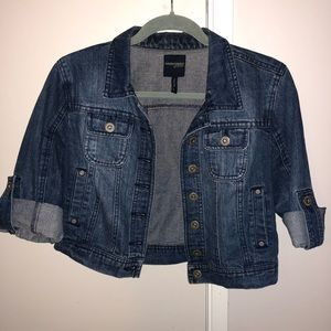 Jackets & Blazers - Dark denim jacket